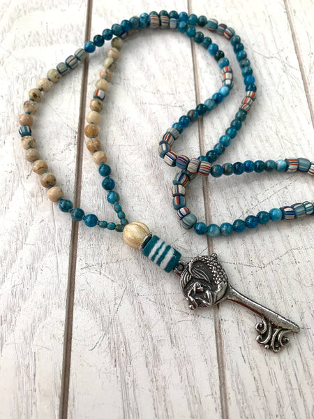 Key to the sea necklace