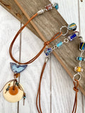 Boho birdy necklace