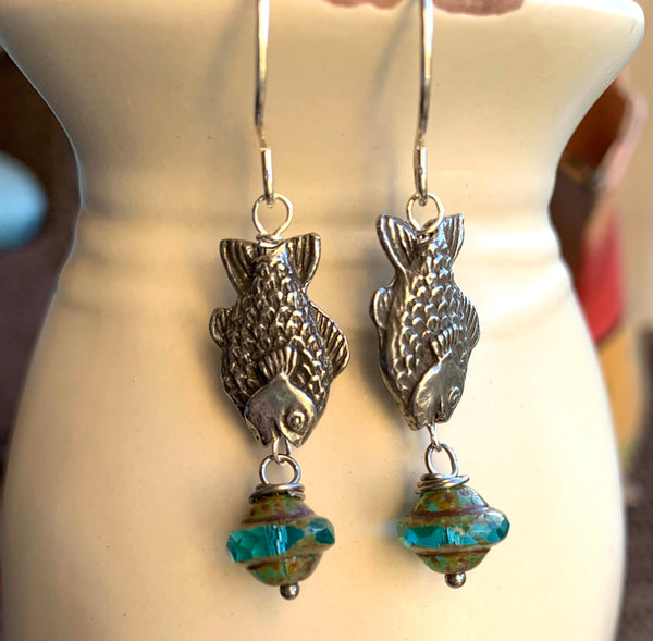 Somethings fishy earrings