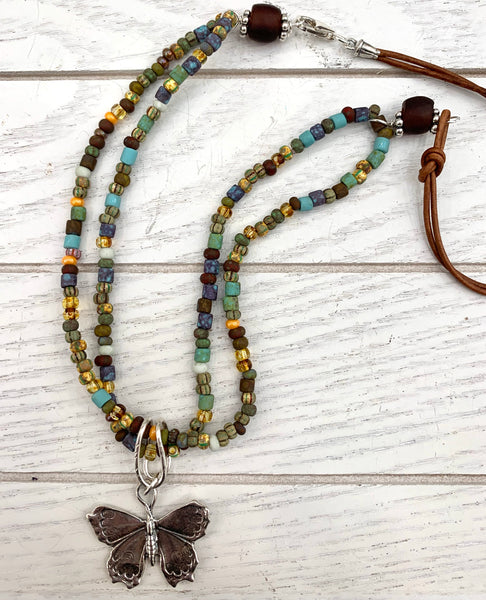 Butterfly Boho Necklace