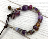 Grape goddess bracelet
