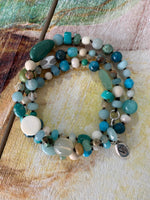 Boho glam bracelet/necklace