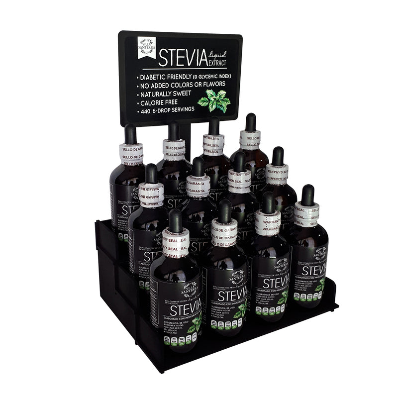 12 Liquid Stevia Extract with Display