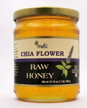 Raw Honey - Miel De Abeja Natural Flor De Chía - 600 G