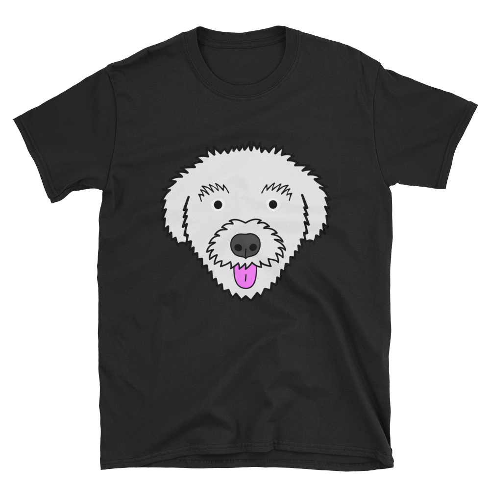 Adult Unisex Sizes Formal//Show Clip Details about  /POODLE Coming/&Going Hanes T-shirts