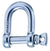 "Wichard 1/4""Diameter ""HR"" D Shackle"
