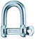 "Wichard 15/32"" Self-Locking D Shackle"