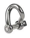 "Schaefer 3/8"" Pin. Twist Shackle"
