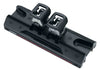 Harken 32 mm Big Boat Car with 2 Stand-Up Toggles
