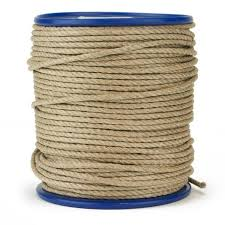 Polished Hemp Rope - Natural Hemp Twine