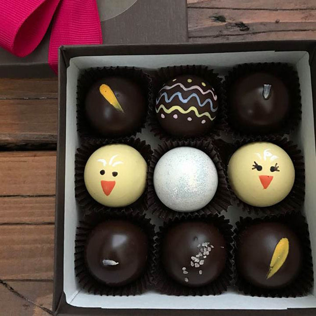 9 Piece Easter Gift Box - Chocodiems