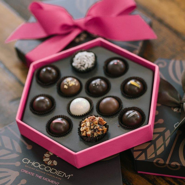 12 Piece Signature Gift Box - Chocodiems