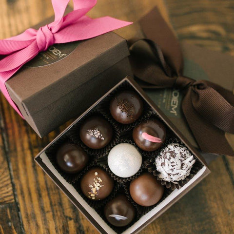9 Piece Truffle Box