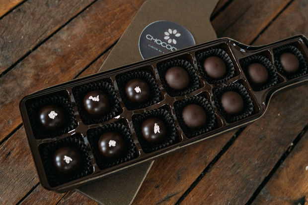 Prosecco Truffle Gift Box - Chocodiems