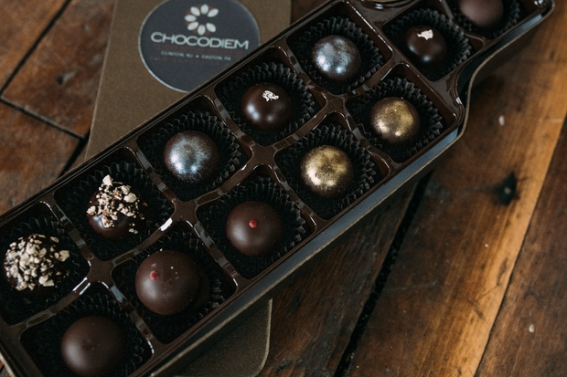 Mixed Liquor Truffle Gift Box - Chocodiems