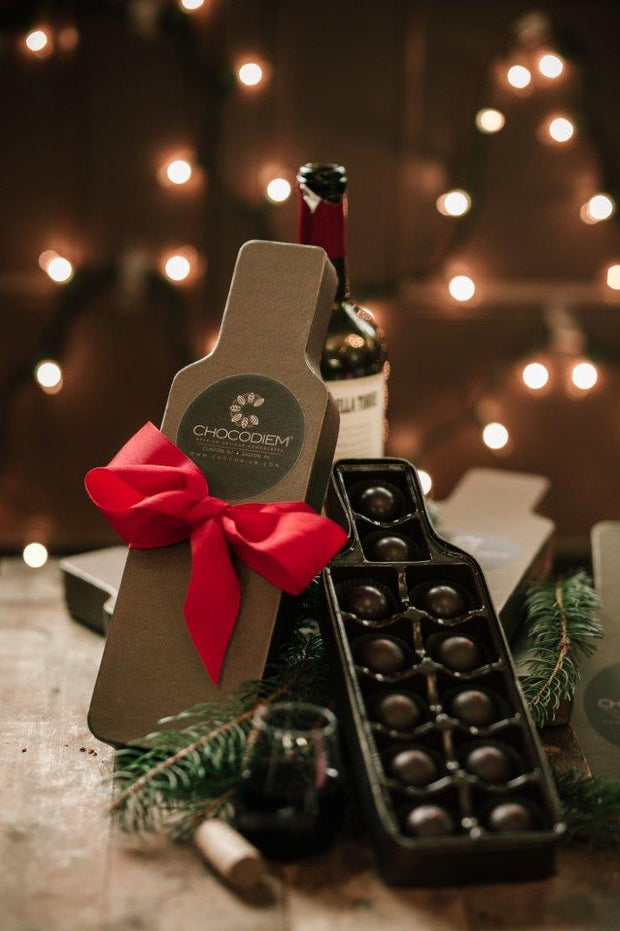 Red Wine Truffle Gift Box - Chocodiems