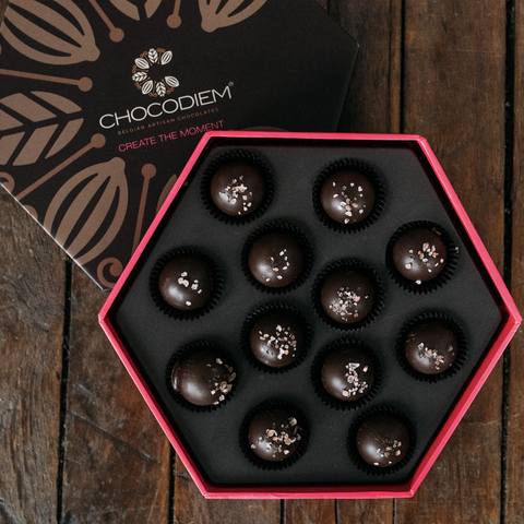 Sea Salted Caramel Truffle Gift Box - Perfect birthday, anniversary, and Valentine's gift