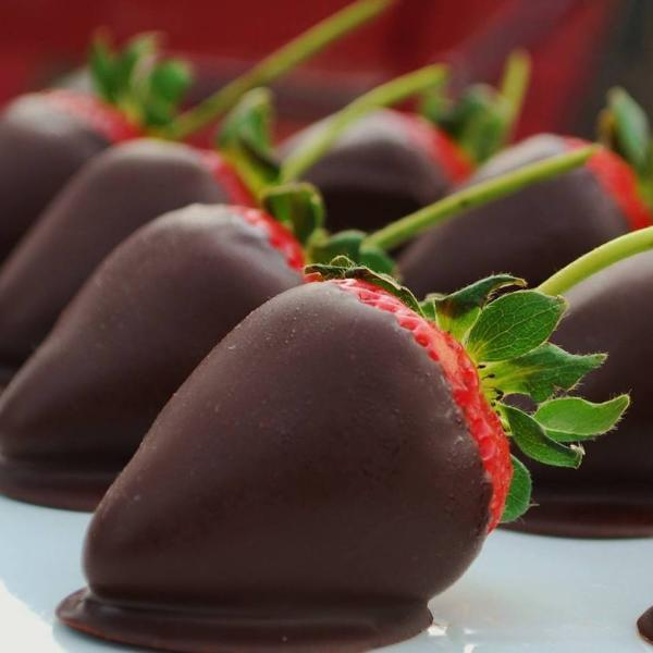 Long Stem Chocolate Covered Strawberries