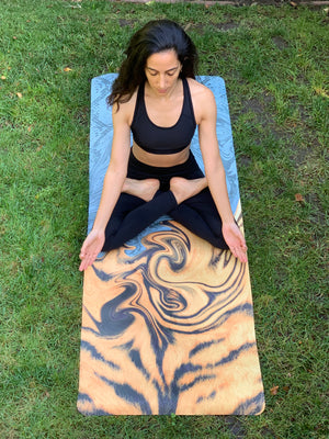 Party. Zen. Repeat Yoga Mat