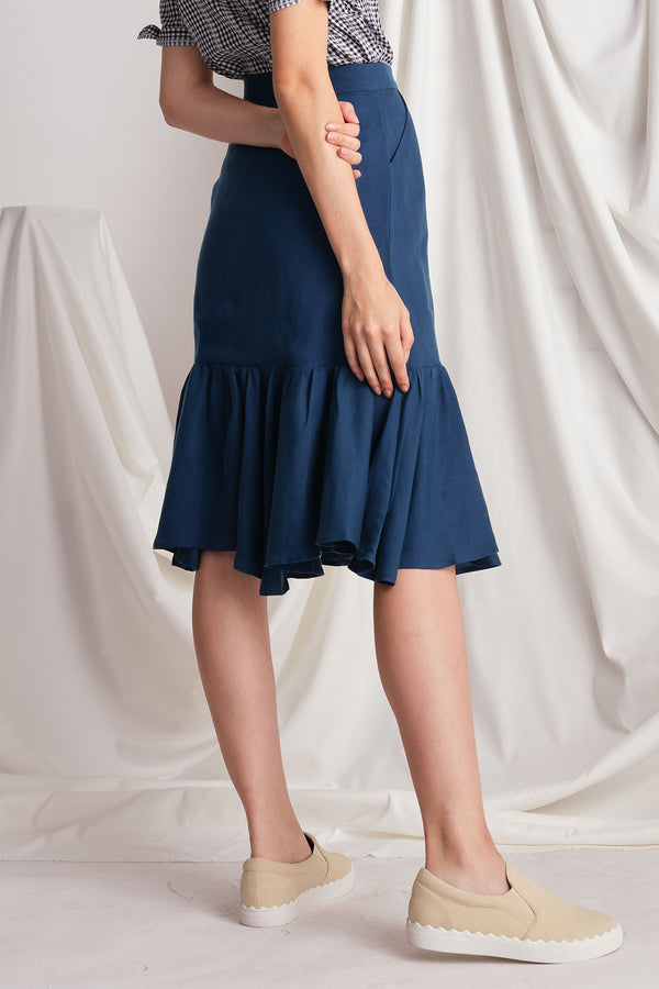Louise Skirt (Navy)
