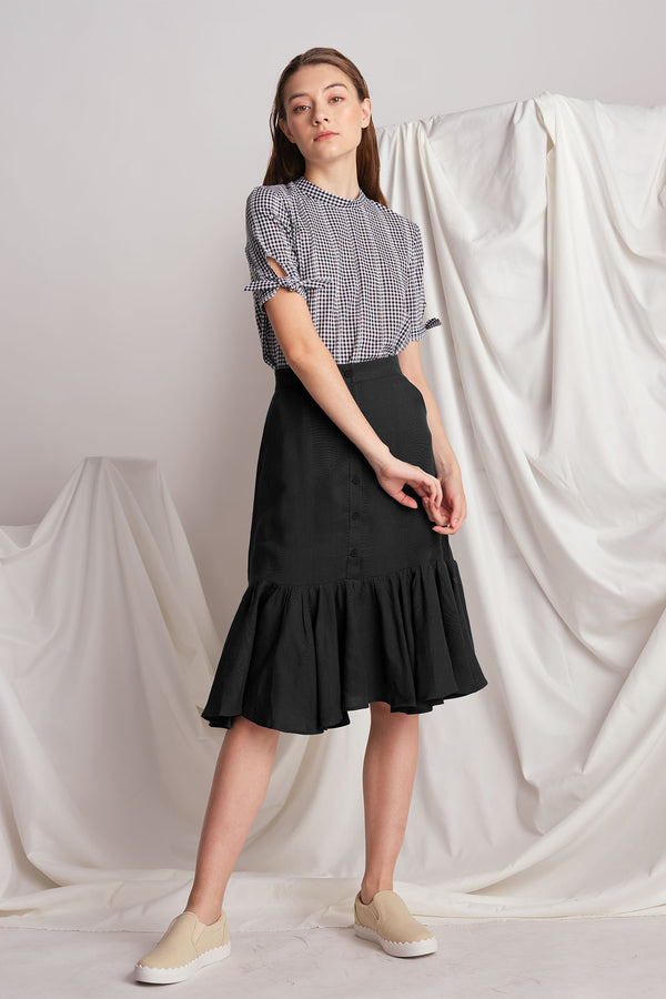 Louise Skirt (Dark Grey)