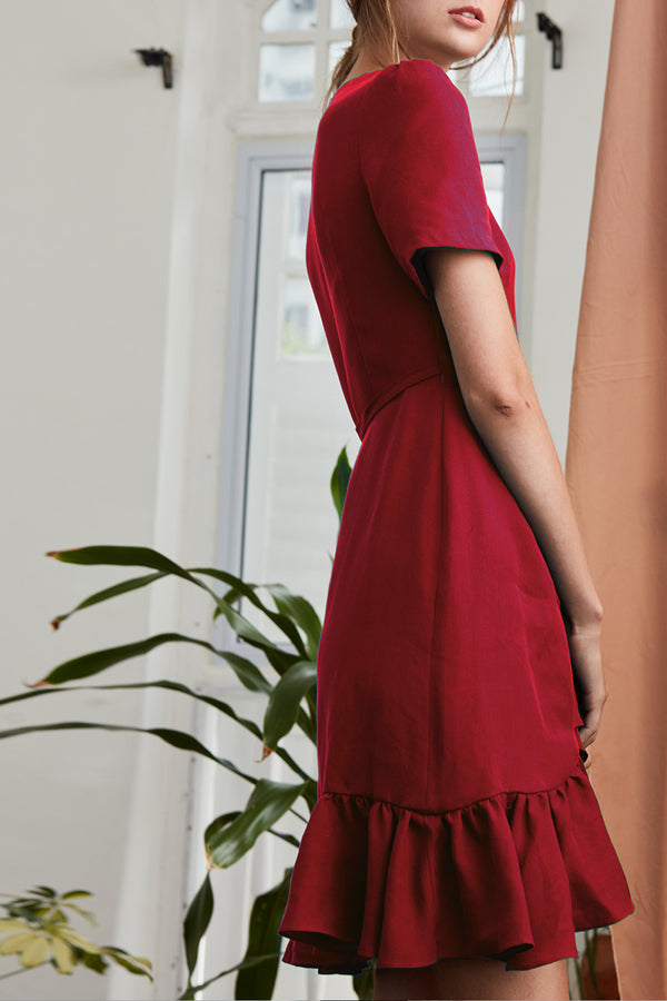 Chloe Dress (Red)