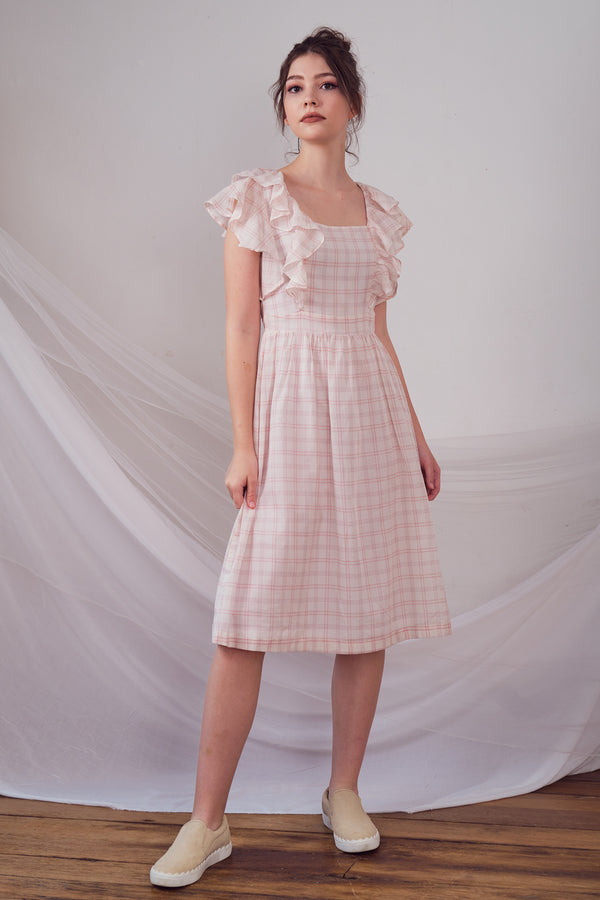 Jolene Checked Dress