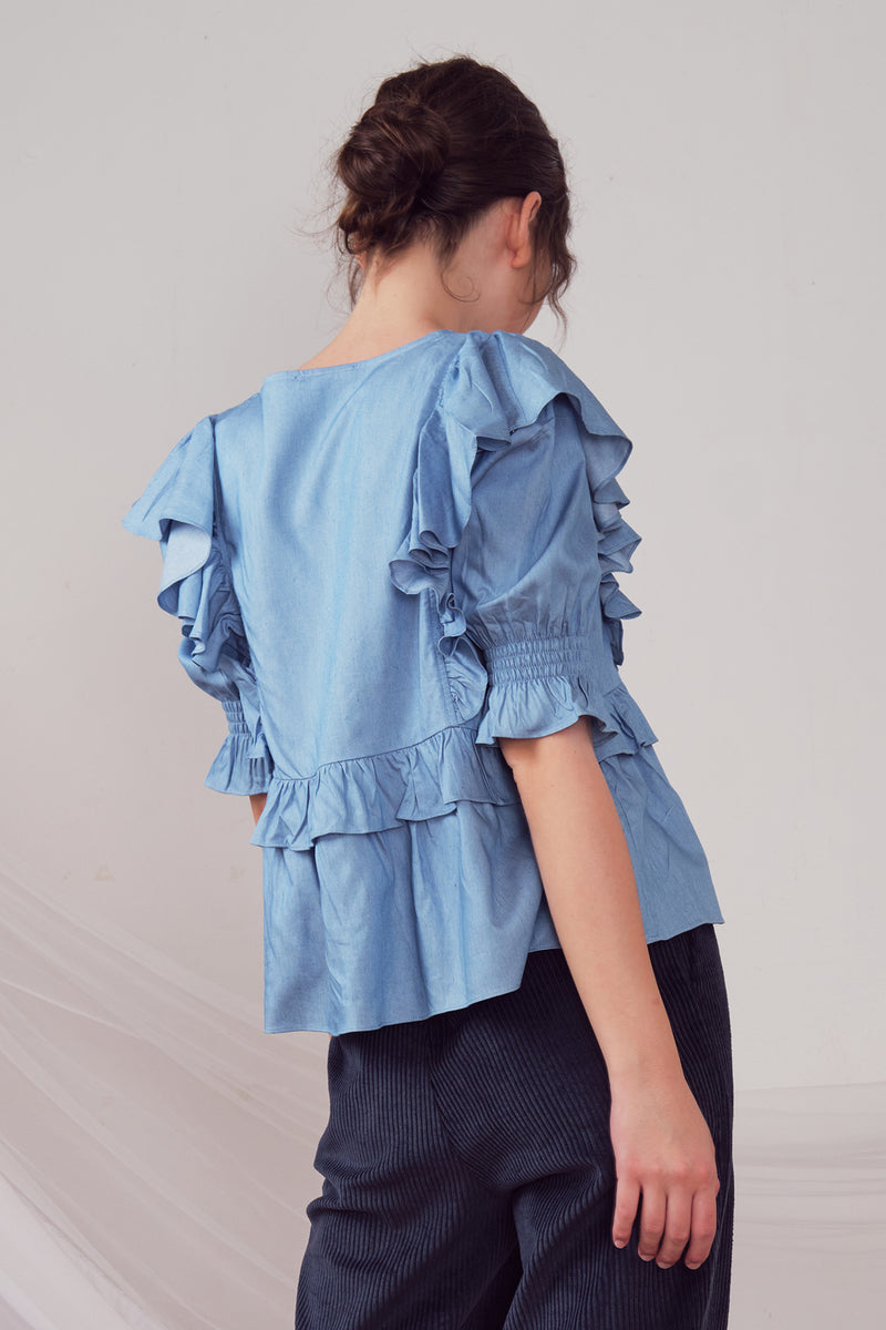 Kirby Top (Blue)