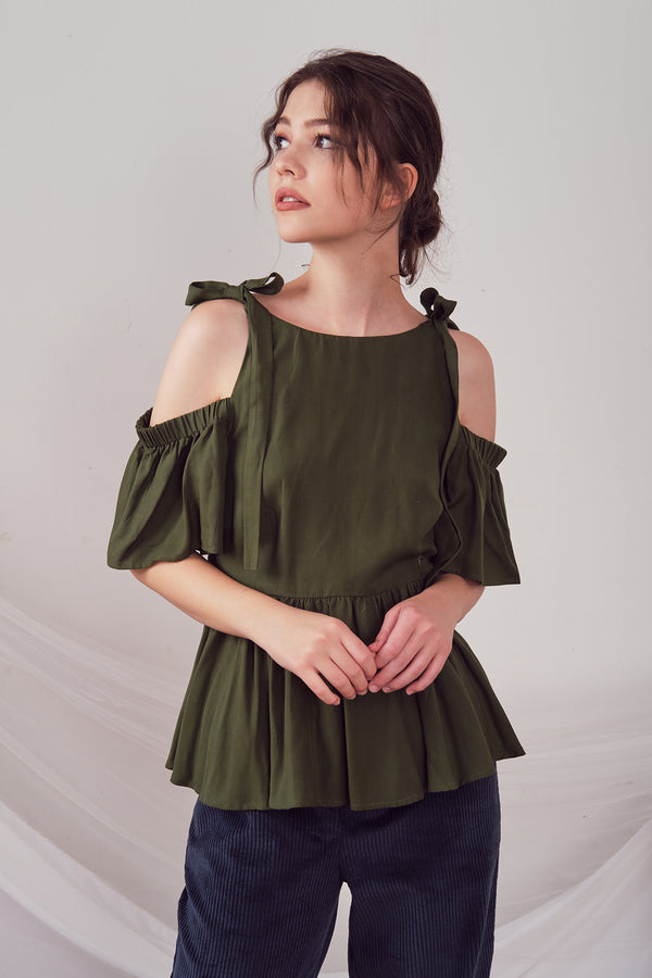 Agatha Top (Green)