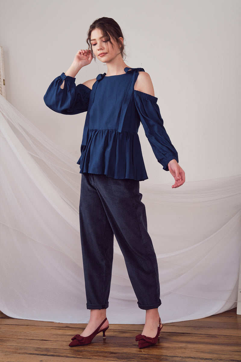 Agatha Top (Navy)