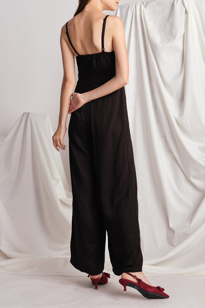 Selena Jumpsuit (Black)