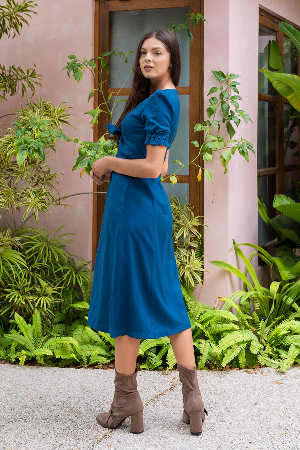Rebecca Dress (Blue)