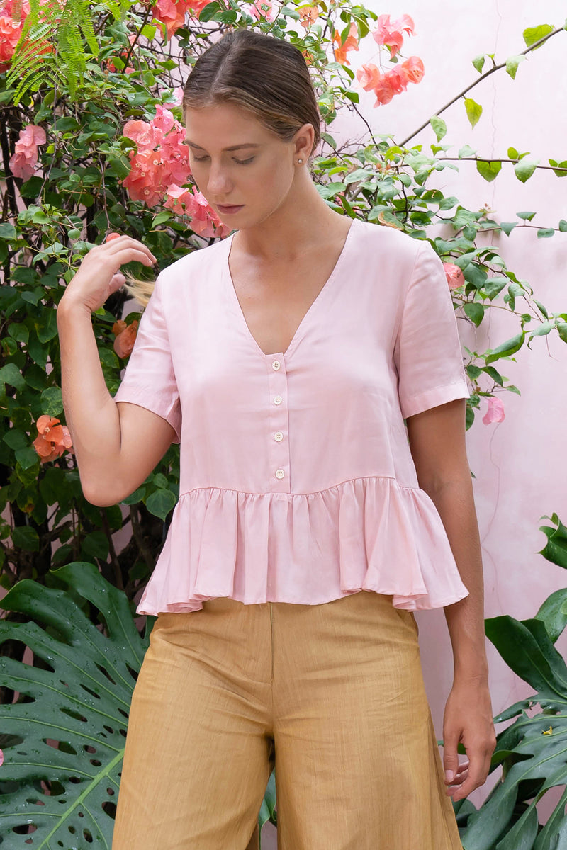 Julie Blouse (Pink)