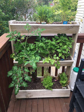 Load image into Gallery viewer, 3-tier Vegetable / Herb planter box
