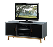 Load image into Gallery viewer, Amsterdam TV Stand (Grey/Black) - Burnt Spaces