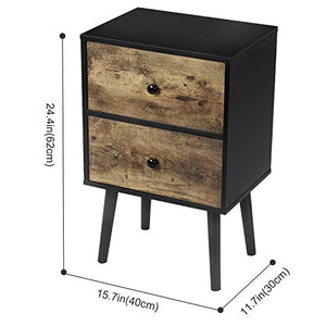 Henry  End Table - Burnt Spaces