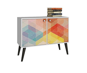 Kaleidoscope 2 Door Console Table - Burnt Spaces