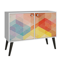 Load image into Gallery viewer, Kaleidoscope 2 Door Console Table - Burnt Spaces