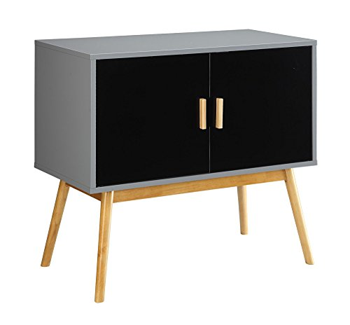 Amsterdam Grey/Black Console Table - Burnt Spaces