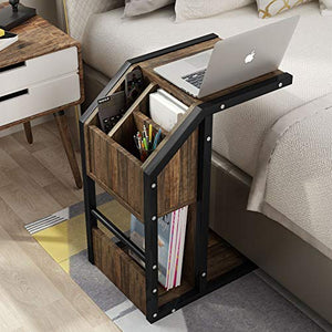 Modern C  End Table - Burnt Spaces