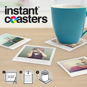 Instant Photo: Coasters - Burnt Spaces