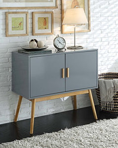 Amsterdam Grey/Black Console Table