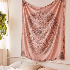 Bohemian Mandala Tapestry - Burnt Spaces