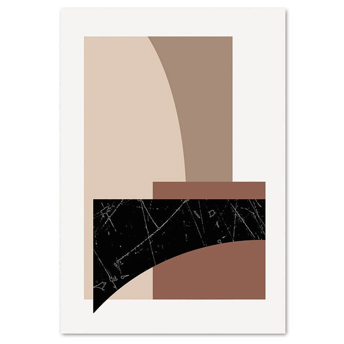 Warm Neutral Canvas Print - Burnt Spaces