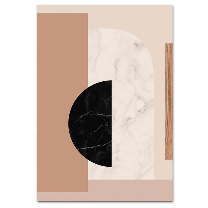 Light Neutrals Canvas Print - Burnt Spaces