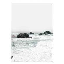 Load image into Gallery viewer, Cali Beach Canvas Print - Burnt Spaces