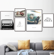 Load image into Gallery viewer, Vintage Radio Canvas Print - Burnt Spaces