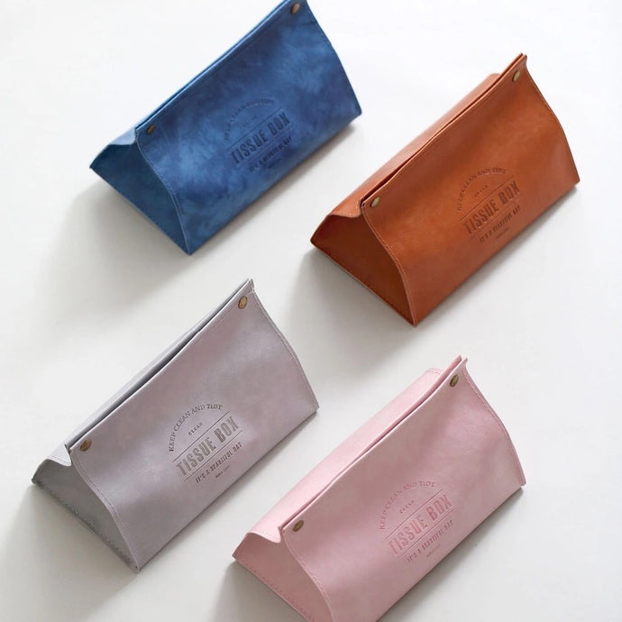 PU Leather Tissue Box Cover