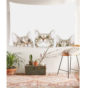 Cute Cats Tapestry