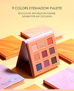 FOCALLURE Waterproof Eyeshadow Pallet (High Pigment)